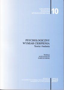 Psychologiczny wymiar cierpienia