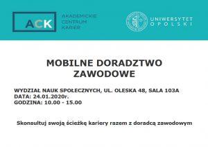 Mobilne doradztwo zawodowe